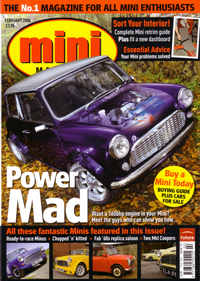 vtec mini mini magazine cover